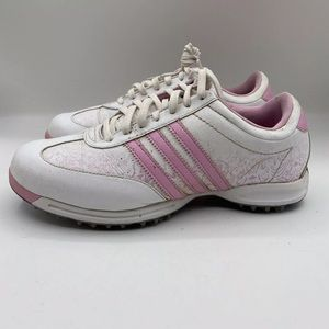 Adidas FitFoam Golf Shoes Leather Athletic